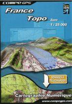 Carte Région France au 1/25000 pour GPS TwoNav