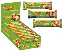 Carton 24 Barres PowerBar Natural Protein 40g Assorties