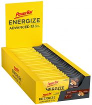 Carton de 25 Barres PowerBar Energize ADVANCED 55g