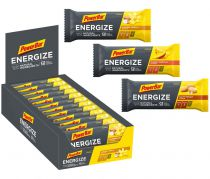 Carton de 25 Barres PowerBar Energize NATURAL Assorties