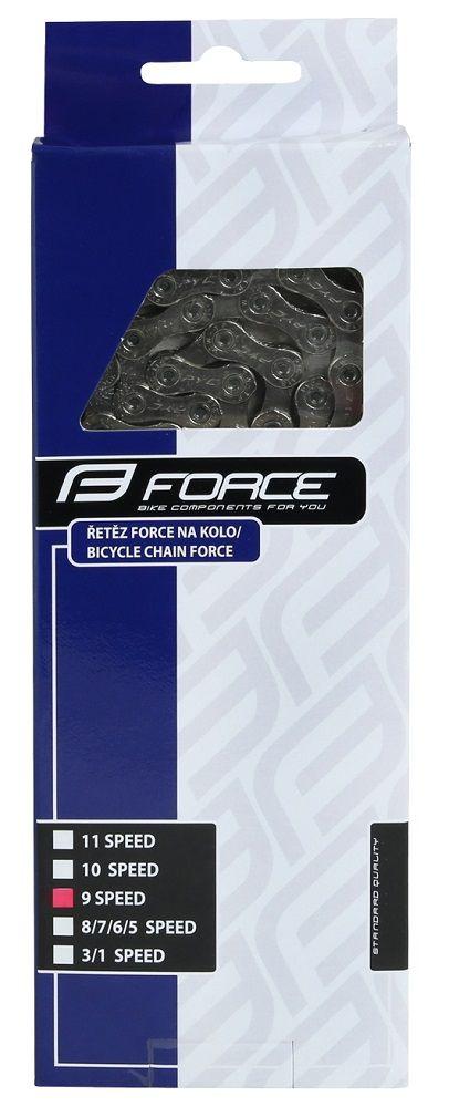 Chaîne Force 9v + Attache Rapide