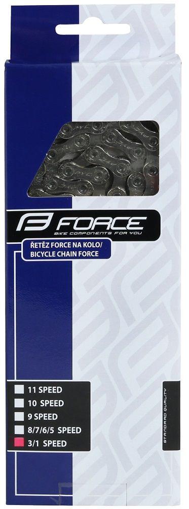 Chaîne Force P410 1/3v + Attache Rapide
