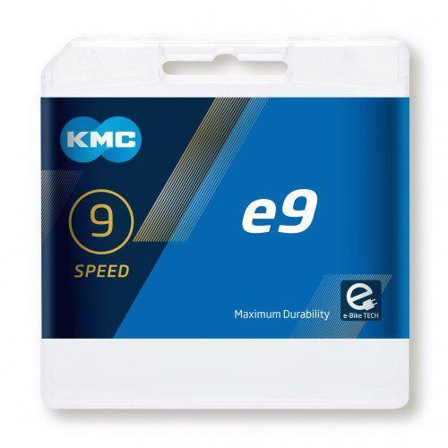 Chaîne KMC e9 10v + Attache Rapide pour E-Bike