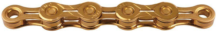 Chaîne KMC X10EL Ti-N Gold 10v - 114 Maillons