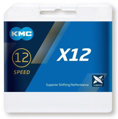 Chaîne KMC X12 Ti-N Gold - 126 Maillons