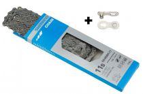 Chaîne Shimano 105 HG601 11v + Quick-Link