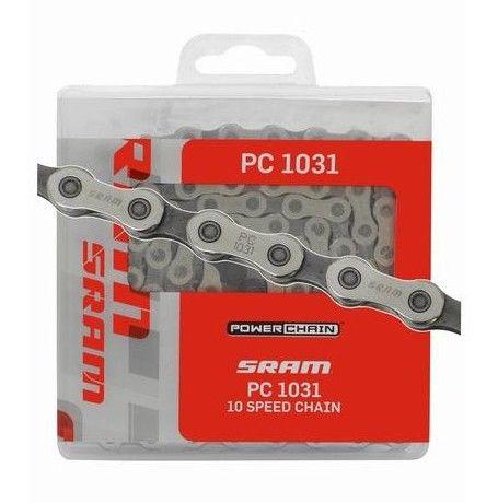 Chaîne Sram PC 1031 Apex + PowerLock - 10v
