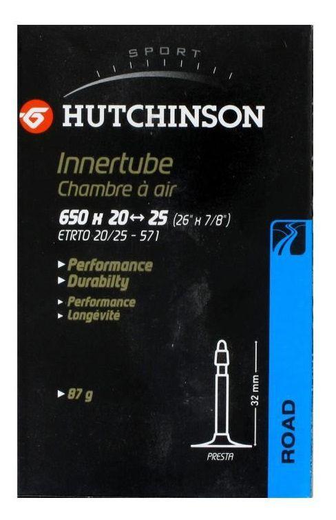Chambre à Air Hutchinson Butyl 650x20/25 - 48mm - En Boîte