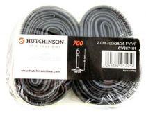 Chambre à Air Hutchinson Butyl 700x28/35 Cross v.Presta 48mm-Lot de 2