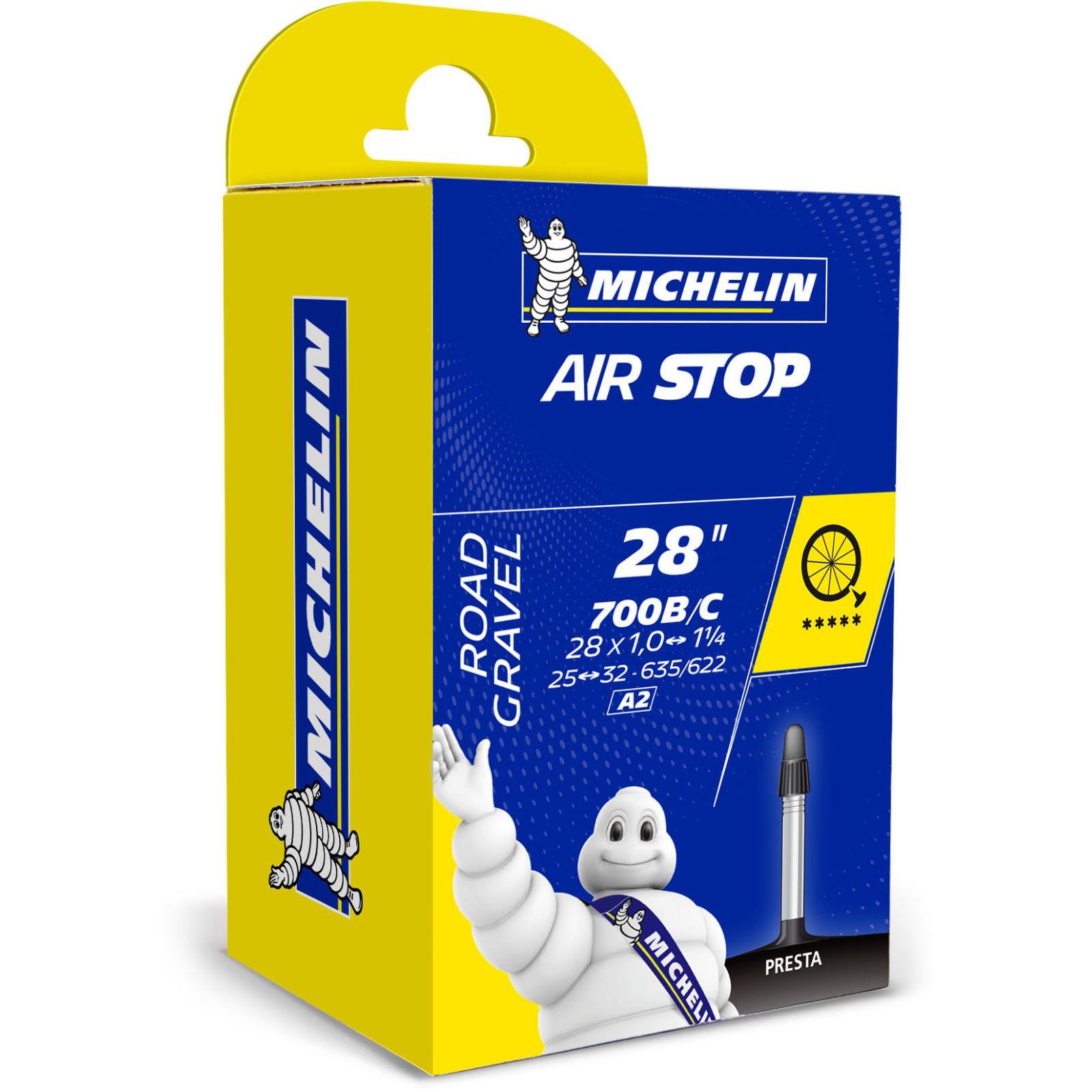 Chambre à Air Michelin A2 Air Stop 700x25/32