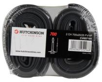 Chambres à Air Hutchinson Butyl 700x20/25 Valve 48mm - Lot de 2