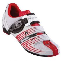Chaussures Pearl Izumi Race RD II Blanc/Rouge - Super Promo