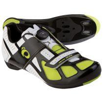 Chaussures Pearl Izumi Race RD III Noir/Blanc/Jaune Ser. Boa - Promo