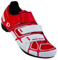 Chaussures Pearl Izumi Sélect RD III Blanc/Rouge - Super Promo