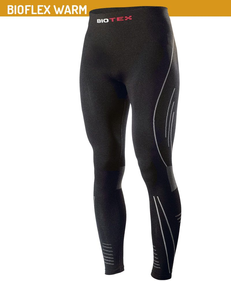 Collant Long Compression Biotex Bioflex Warm sans Peau Art.164