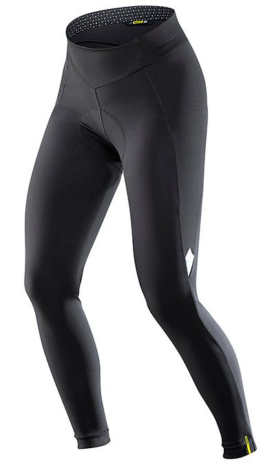 Collant Long Dame Mavic Sequence Thermo Tight Sans Bretelles - New 2018