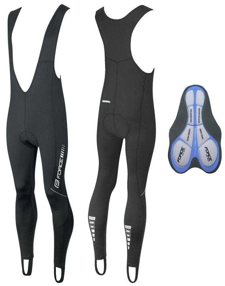 Collant Long Force BibTight Z68 Noir