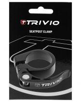 Collier Serrage Tige Selle Trivio Noir avec Blocage Rapide Réf. TRV-SP