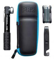 CombiPack PRO Capsule avec Mini-Pompe, Bidon Porte-Outils, Mini-Outil Pro 10 et Démonte-Pneus