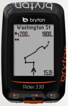 Compteur Bryton Rider 330 T sans Fil - Gps - 72 Fonctions