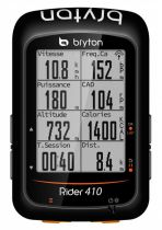 Compteur Bryton Rider 410 T (avec Cadence & Cardio) - New 2019
