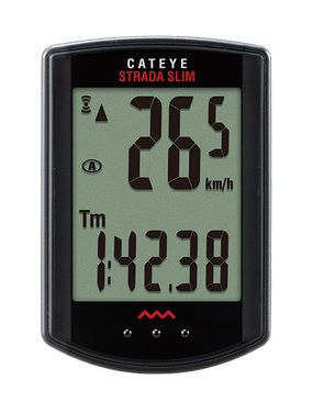 Compteur CatEye Strada Slim Wireless Noir