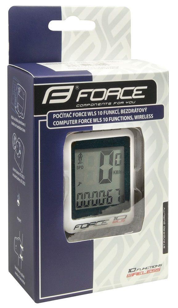 Compteur Force WLS 10 Fonctions sans Fil Blanc