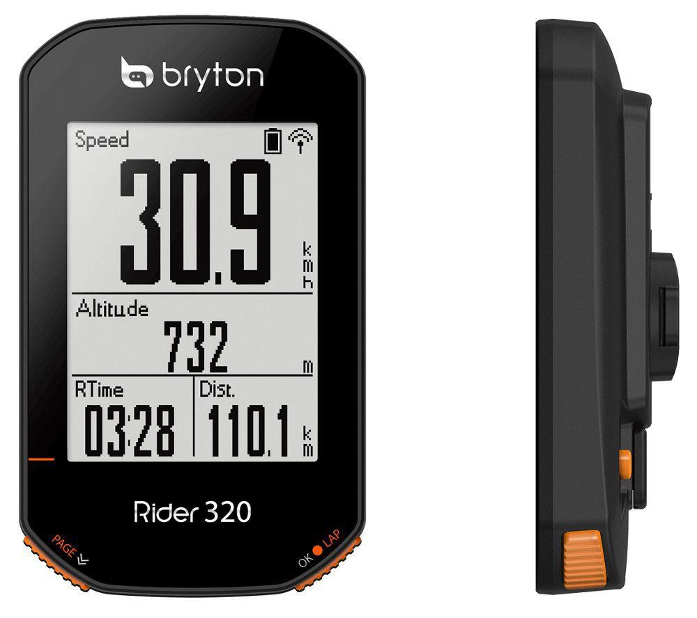 Compteur GPS Bryton Rider 320 T (avec Cardio + Cadence)