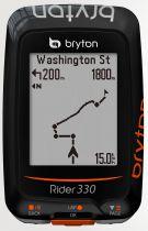 Compteur GPS Bryton Rider 330 H (avec Cardio)