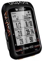 Compteur GPS Bryton Rider 450 T (avec Cardio + Cadence)