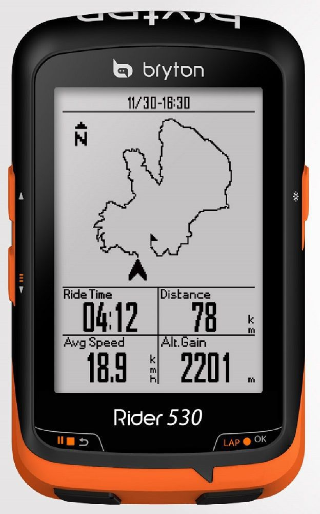 compteur gps bryton rider 530 c avec cadence promo. Black Bedroom Furniture Sets. Home Design Ideas