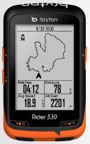 Compteur GPS Bryton Rider 530 H (avec Cardio)