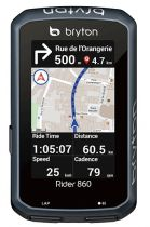 Compteur GPS Bryton Rider 860 T (avec Cardio + Cadence)