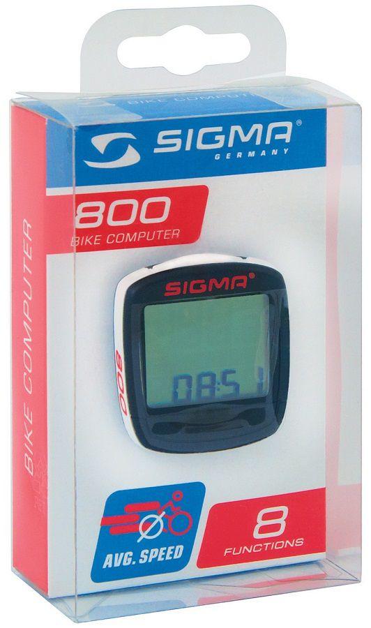 Compteur Sigma Baseline 800 Filaire - 8 Fonctions