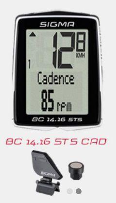 Compteur Sigma BC 14.16 STS CAD Sans fil