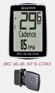 Compteur Sigma BC 16.16 STS CAD Sans fil