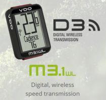 Compteur VDO M3.1 WL sans Fil