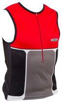 Débardeur Noret Triathlon Noir Conforto Zip 30Cm 2 Poches Dos - Promo