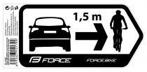 Décalque Force Safety pour Voiture 184x84 mm