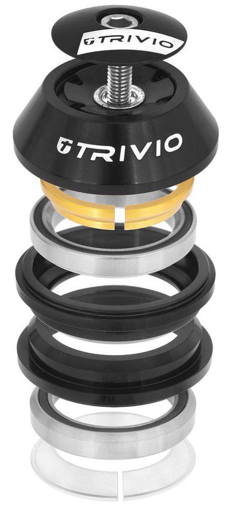 "Direction Trivio Semi Intégré 1-1/8\"" Cône 15mm réf. TRV-HS-008"
