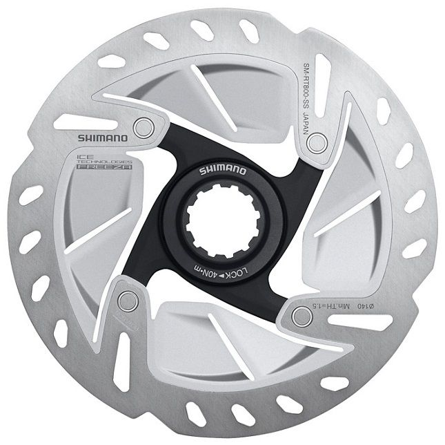 Disque Shimano Center Lock 140mm - SM-RT800 Ultegra - Ice-Tech Freeza