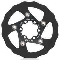 Disque XLC BR-X76 - 6 trous Noir/Titane