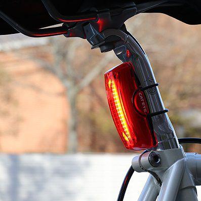 Eclairage Arrière Cateye Rapid X2 USB Réf. TL-LD710-R - 80 Lumens
