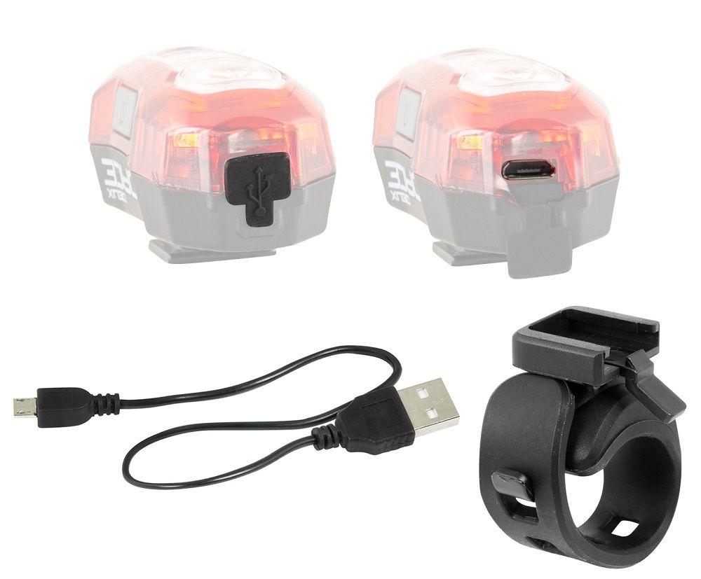 Eclairage Arrière Force Deux 40 Lumens USB