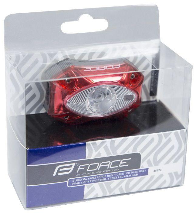 Eclairage Arrière Force Light 60 Lumens USB