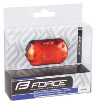 Eclairage Arrière Force Ruby2 25 Lumens USB - 3 Fonctions