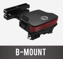 Eclairage Arrière Guee B-Mount + Support Sacoche/Caméra GoPro