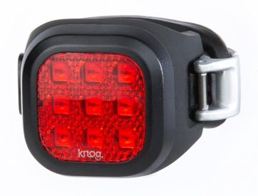 Eclairage Arrière Knog Blinder Mini Rear Niner réf. 11957 - 11 Lumens
