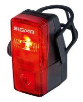 Eclairage Arrière Sigma Cubic Noir à Piles