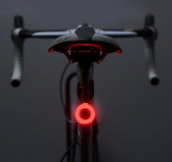 Eclairage Arrière USB Led Rouge